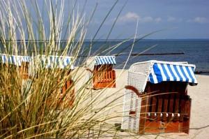 Strandkörbe versprechen Gemütlichkeit und Urlaubsfeeling